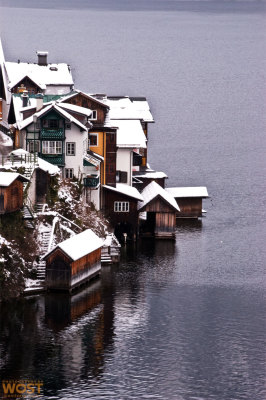 Hallstatt at the lake
