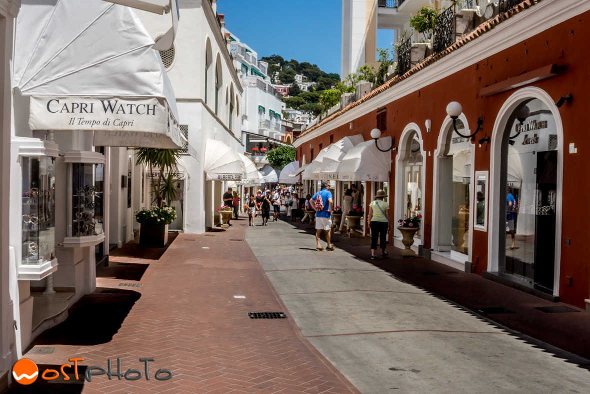 Capri Shopping